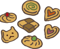 クッキー 抜き 型