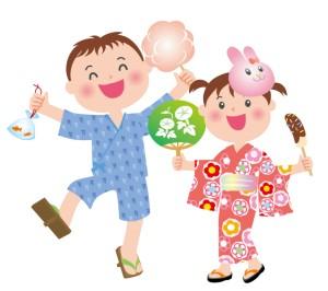 夏祭りのポスター☆保育園で制作するならどんな方法があるの?